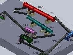 有机肥造粒工艺流程图