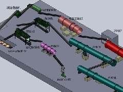 转鼓造粒工艺流程图